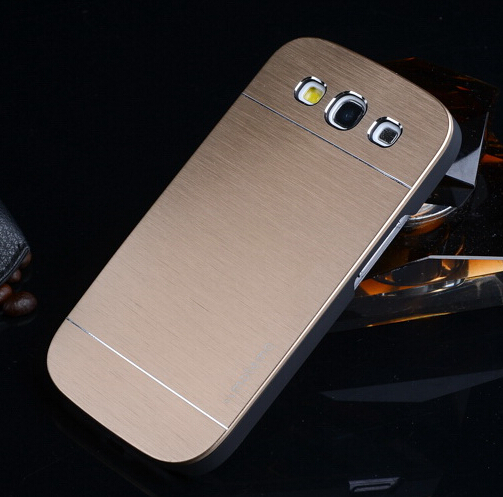 Luxury Aluminum Metal+PC Back Cover Case For Samsung Galaxy Grand Duos i9082 9082 GT-i9082 Covers Mobile Phone Cases Shell(China (Mainland))