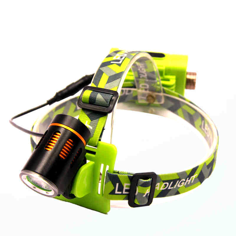 T6 LED Headlamp Cree T6 Waterproof 2000lm No included rechargeable 2*18650 Mobile Power Supply 4 Modes Torch Flashlight(China (Mainland))