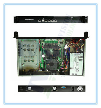 High Cost-effective 4LANs router / firewall barebone with XEON 2.6GHz M/B ,200W PSU and 2GB RAM