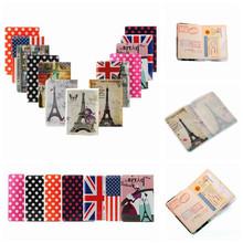 2015 Hot PVC Passport Holder Cover Identity ID Credit Card Cover Bags Document Folder Travel Passport
