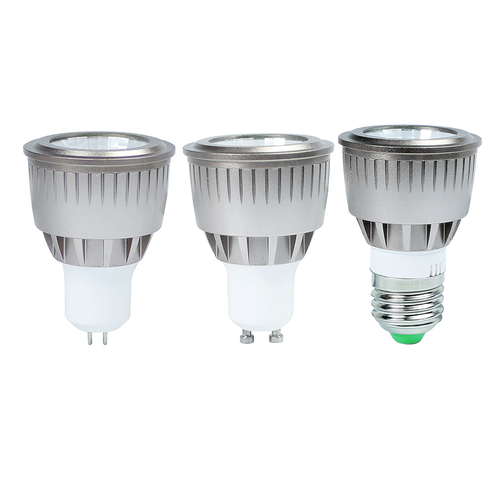 3W 5W 7W COB E27 LED spotlight bulb AC85-265V Gu10 led bulb lamp light MR16 led Lampada lamp warm/cold white For Indoor lighting(China (Mainland))