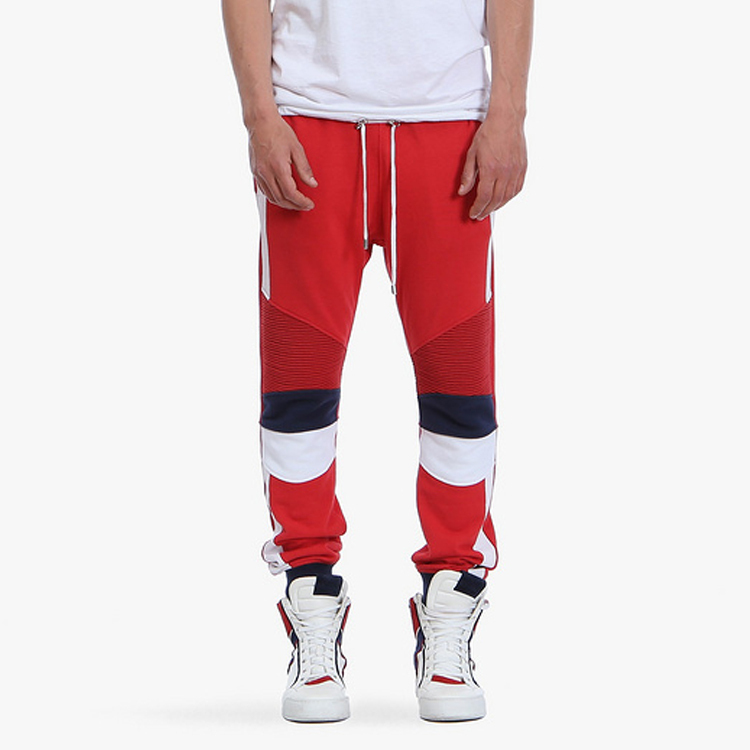 Famous Brand Knitting Casual Sport Joggers Korea Style White Pleated Slim Sweatpants Outdoor Jogging Pants - ALICOWBOY store