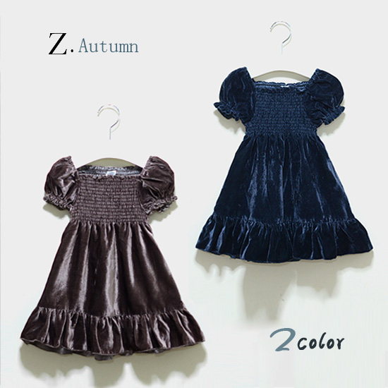 2015 autumn kids elegant party dress zar* brand kids tulle puff sleeve velour one-piece dress special occasion costume girls(China (Mainland))