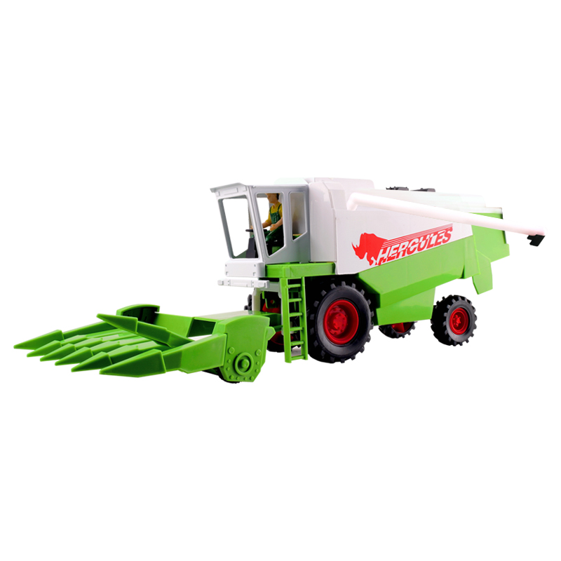 2014 New Arrival Harvestable Farm Car Model High Quality Luxury Gift Truck Toys For Children Free Shipping(China (Mainland))