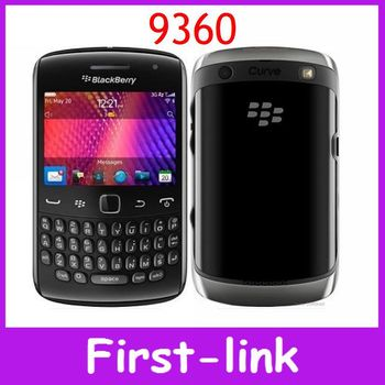 One Year Warranty Original BlackBerry Curve 9360 WIFI GPS 5MP Camera QWERTY 2.4inch TouchScreen Mobile Phones Free Shipping