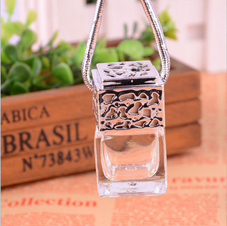 New pattern Car air refreshing agent Luxury car accessories Car perfume Empty bottles Can be added like perfume(China (Mainland))