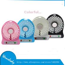 Портативная мини USB вручную вентилятор перезаряжаемый аккумулятор ventilador techo компактный вентилятор из внутренний / на открытом воздухе / дети стол Mini вентилятор
