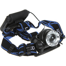 For Sales Promotion Zoom In/ Out LED Headlight Lamp 2000LM XM-L XML T6 LED Headlamp Headlight Zoomable Adjust(China (Mainland))