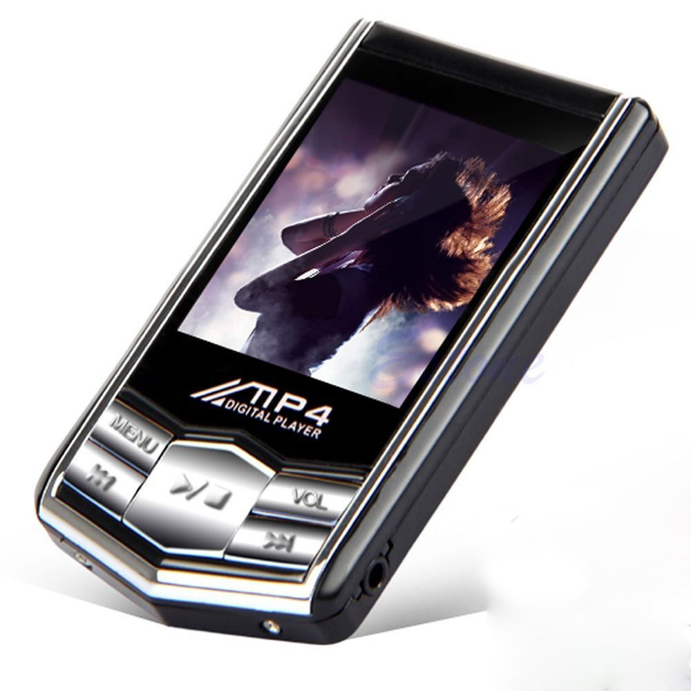 Hillsionly Hot Sale 4/8/16GB Slim MP4 Music Player 1.8inch TFT LCD Screen FM Radio Video Games & Movie Electronics Gadget