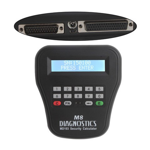 top quality multi-function car Diagnostic Locksmith Tool t code key programmer MVP PRO M8 Key Programmer free shipping by DHL(China (Mainland))