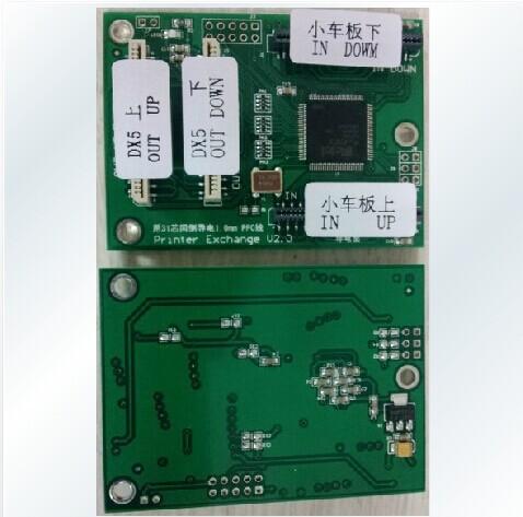 O envio gratuito de Cartão De Descodificação Para todos os modelos de impressora Epson DX5 DA Cabeça de Impressão Cabeça Decodificador(China (Mainland))