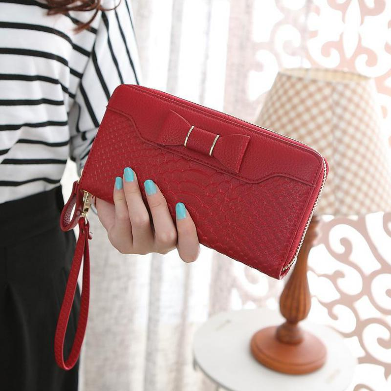 Alligator PU leather women wallet brand long zipper wallet women clutch fashion purse female vintage style women purse bag(China (Mainland))