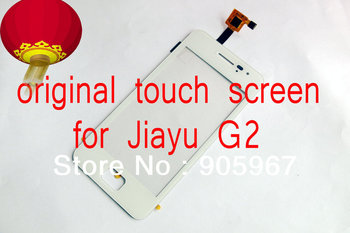 white Original 100% new glass touch screen + 1* Stand Holder For Jiayu G2 JY-G2 free shipping HK airmail + tracking code