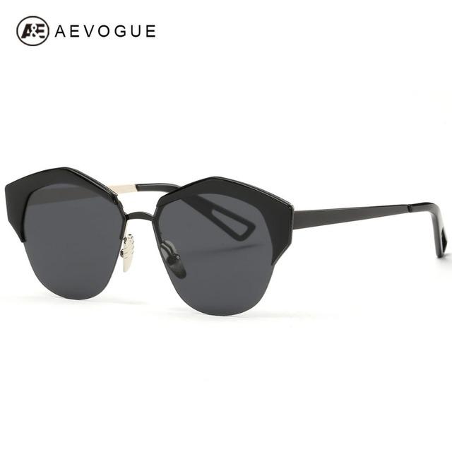 Aevogue сплава рама поляризованных солнцезащитных очков женщин поляроидный летний стиль солнцезащитные очки óculos De Sol Feminino UV400 AE0283
