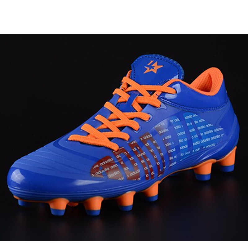 New Football Shoes Boot Soccer Cleats Men Soccer Boots Man Kids Child Botas Futbol Football Fussball botines de futbol original(China (Mainland))