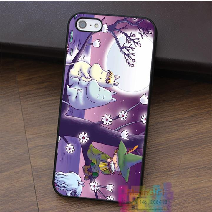 Classic Finland Comics Series Moomin Valley&Muumi fashion cell case for iphone 4 4s 5 5s 5c SE 6 6s & 6 plus & 6s plus #LI0607