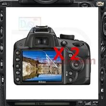 2 unids alta calidad de pantalla LCD Protector de la película para Nikon D3100 D3200 D3300 PB427(China (Mainland))
