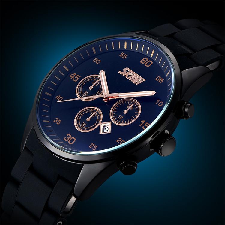 hot sale men wrist watches Skmei waterproof rubber quartz watches men luxury brand men cool sports watches relogio masculino