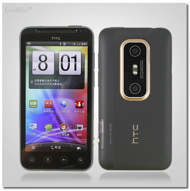 "G17 HTC EVO 3D Original HTC Unlocked Cell Phone 4.3""Touch Screen GPS WIFI Camera 5MP 3G Smartphone Refurbished(China (Mainland))"