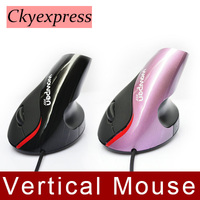 WOWPEN Vertical Wired Mouse Superior Ergonomic Design 1200DPI JOY Wrist Pain Computer USB Mice For Laptop PC Notebook New 2015