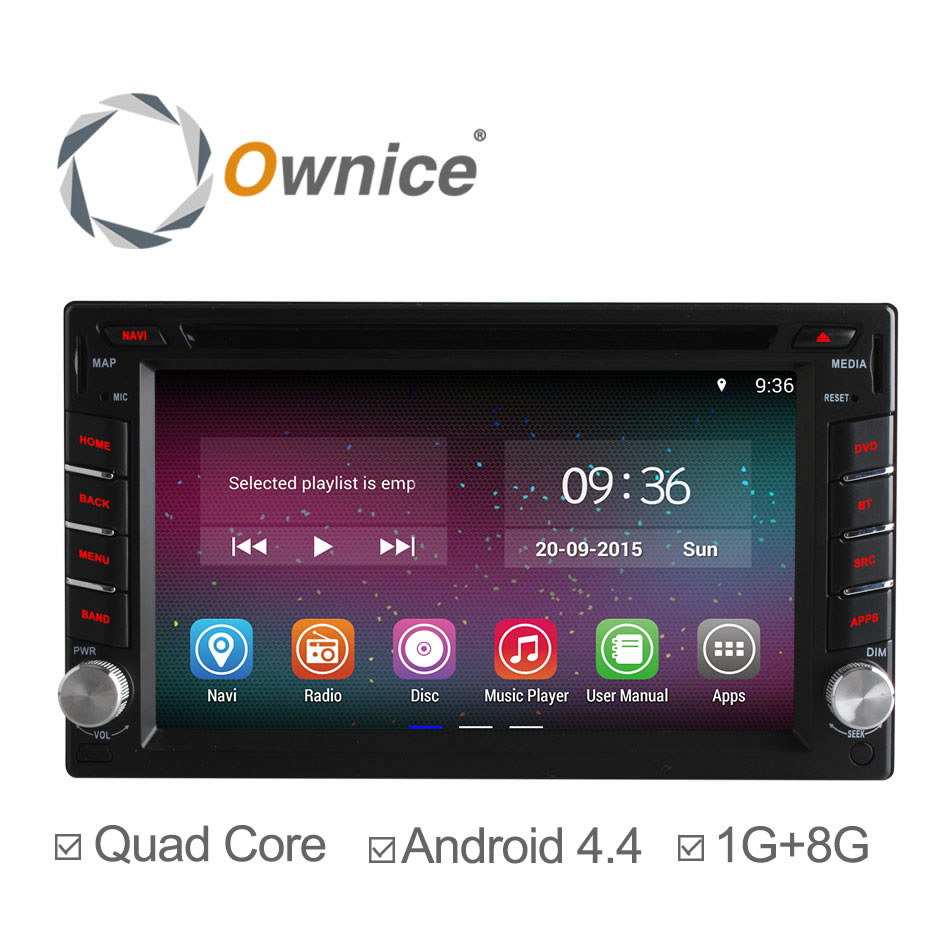 Ownice C200 Quad Core Android 4.4.2 Car DVD GPS Navigation 2Din Car Stereo Radio Universal Interchangeable Player Free Shipping(China (Mainland))
