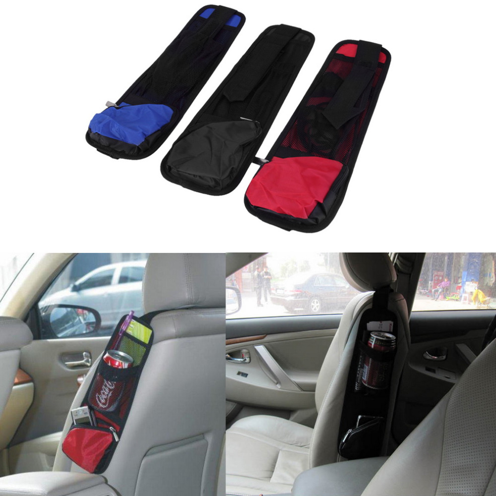 New 2015 Waterproof Car Auto Seat Side Back Storage Pocket Backseat Organizer Bag redcolorDrop Shipping<br><br>Aliexpress