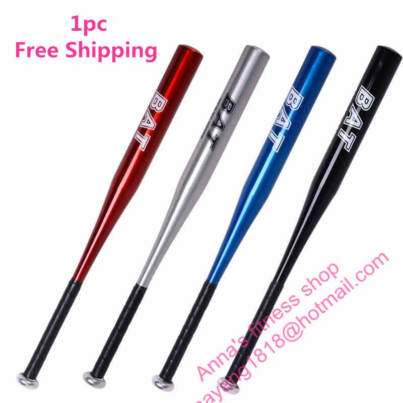 1pc softball bat baseball bats aluminium alloy baseball bat Red black,silver,blue to mix bola de baseball taco de beisebol(China (Mainland))