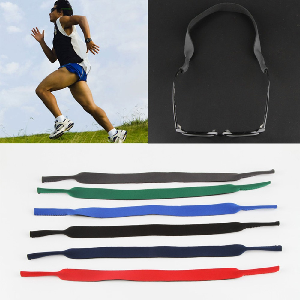 Spectacle Glasses Sunglasses Neoprene Stretchy Sports Band Strap Cord Holder Hot Selling(China (Mainland))