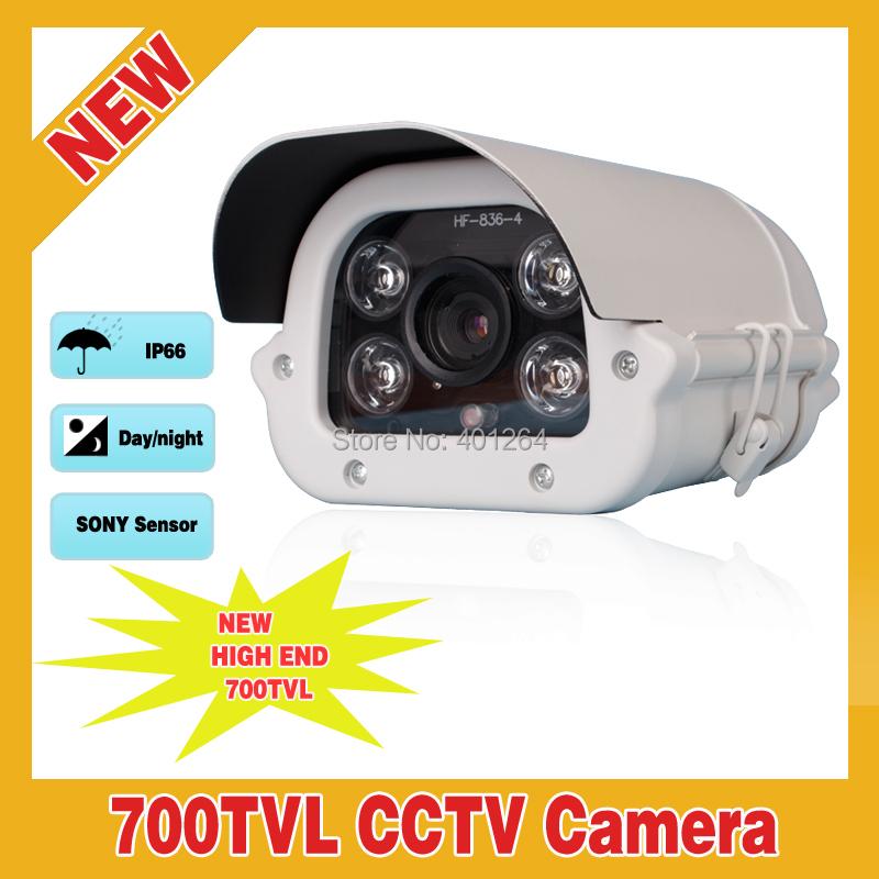 700TVL Sony Effio-E CCD 5-50mm 10X Manual Zoom Lens 4 Array IR  Weatherproof Security CCTV Camera With OSD