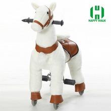 ПРИВЕТ CE хорошие продажи малыш езда механические идущей лошади игрушка, тряся животных плюшевые игрушки(China (Mainland))