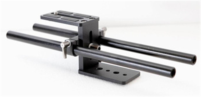 N07069 Simple Rail Rod Support System Baseplate Mount for DSLR Follow Focus Rig 5D2+FreePost<br><br>Aliexpress