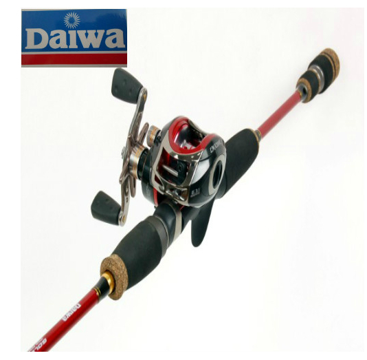 2.4 M Daiwa Bait Casting Lure Fishing Rod Power M Lure Weight 7 to 30 Gram Lift Weight 1.5 KG 3LB Line Joint Section For Bream(China (Mainland))