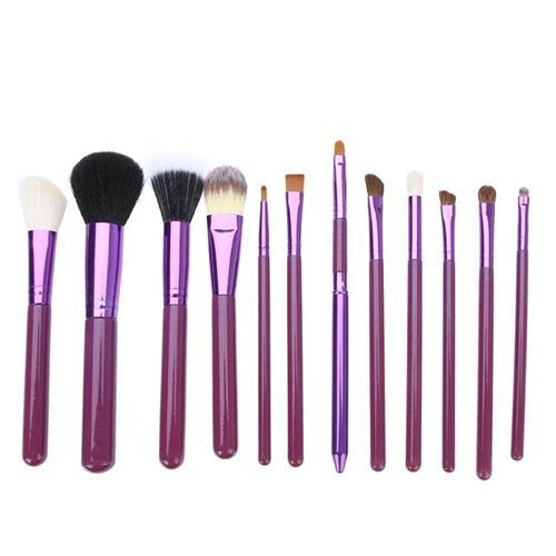 Handle Best Design Comestic Brush Kits 12pcs Brushes Cheap Makeup ...