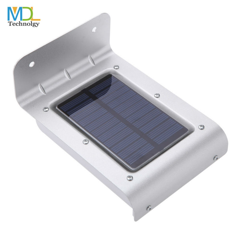 Solar led wall light sensor Outdoor Light 16 LED Waterproof Energy Saving security lights For Garden Park(China (Mainland))