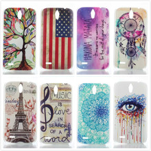 Painted Hard PC Plastic Transparent Matte Phone Case Back Cover For Huawei Ascend G610 G610s C8815 Protective Case,PT210