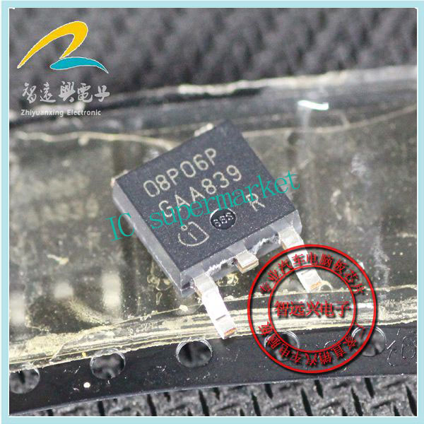 08P06P Technologies specializes in car computer chip SMD transistor TO252(China (Mainland))