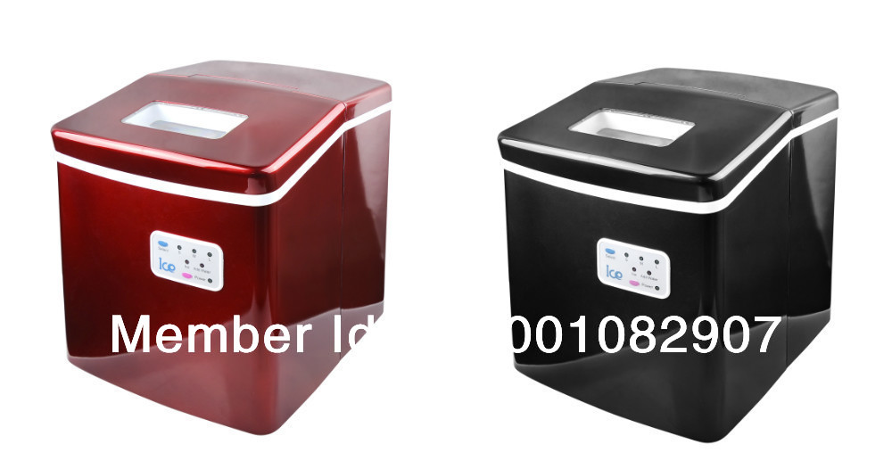 Red/Black compact portable ice maker(KT-12-001)<br><br>Aliexpress