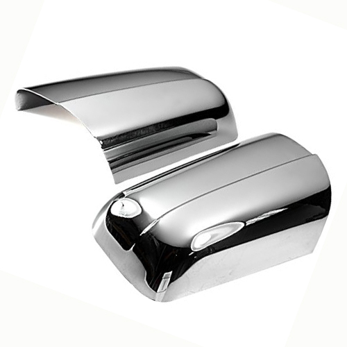 Chrome styling side mirror cover for mercedes benz for Mercedes benz side mirror price