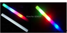 200pcs/lot 4*48cm multi color led foam stick glow foamstick for wedding party decration(China (Mainland))