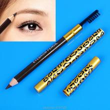Eyeliner Pencil Brush Eye Liner Eyebrow Makeup Tools Waterproof Brown Black Leopard Cosmetic Hot Sale