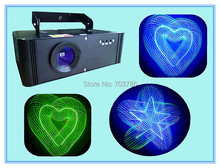 6Pcs/Lot 3D RGB Laser Light  90V-240V With 100mW Green 150mW Red 300MW Bule Laser Effect Light DMX 512 3D Laser Show(China (Mainland))