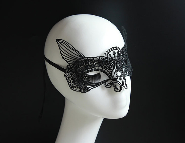 Sexy Charm Party Masquerade Cat Eye Mask Woman Costume