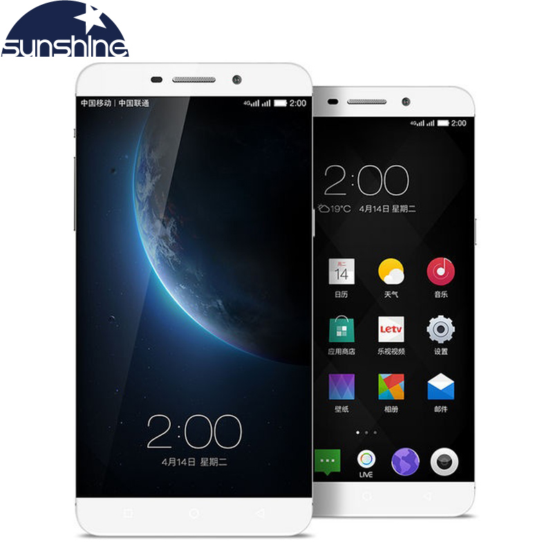 Original Letv Max X900 4G LTE Mobile Phone Octa Core 6.3'' 21.0MP ID touch phone 4G RAM 32G ROM Dual SIM Card Android Smartphone(China (Mainland))