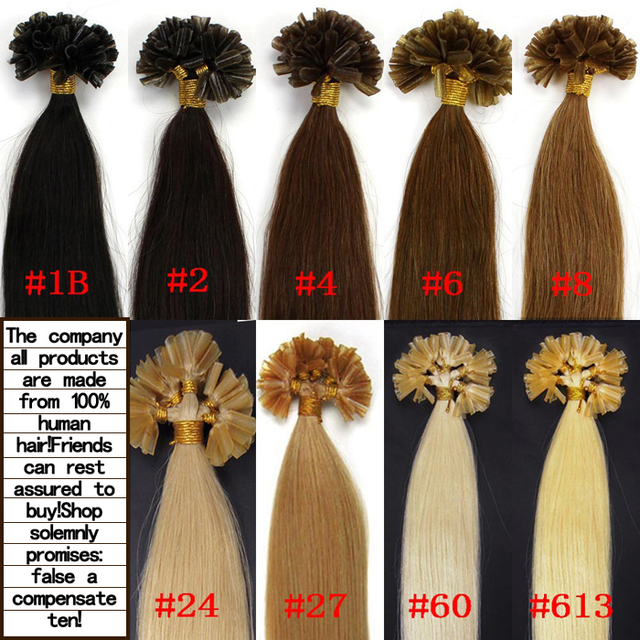 U Tip Hair Extensions Cheap 77