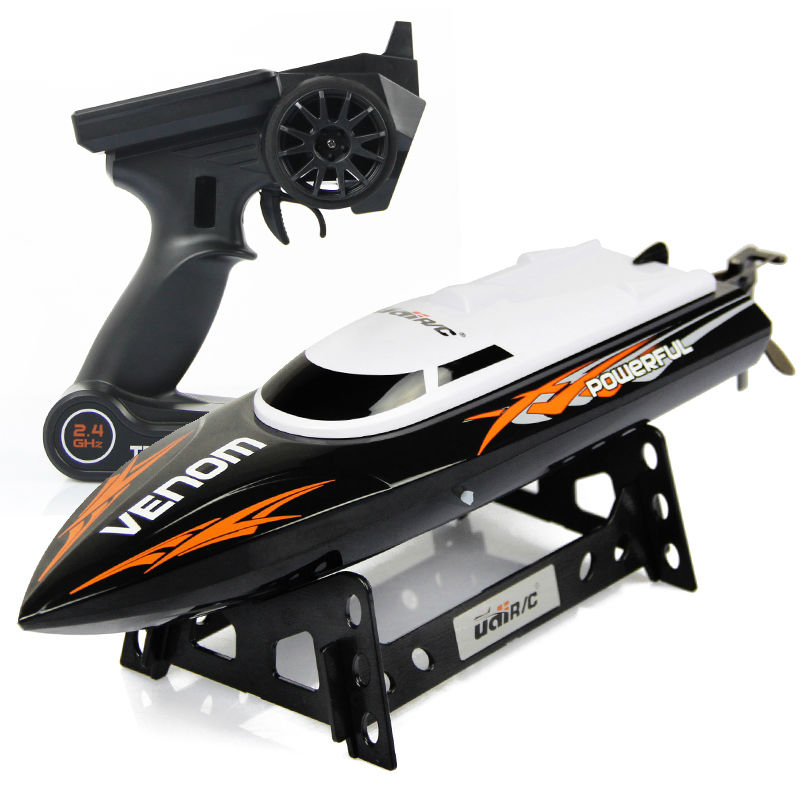 UDI Toys 001 Super 2.4G High Speed RC Boat Electric Motorboat 4CH Model can Righting Remote Control RC Speedboat(China (Mainland))