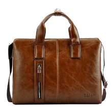 ZEFER genuine leather bag male briefcase portfolio,men messenger bags business handbag shoulder bag fashion men's travel bags(China (Mainland))