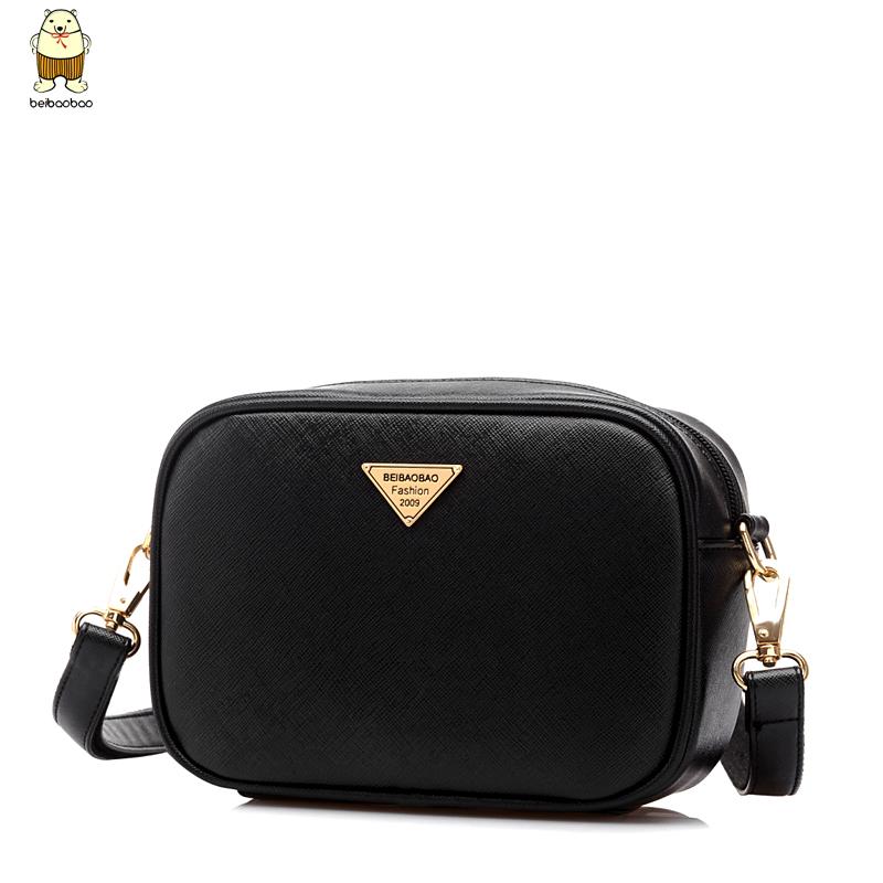 2015 Brief PU Women's Handbag Shoulder Messenger Bag Casual Bags Mobile Phone Cross body Bag Free Shipping(China (Mainland))