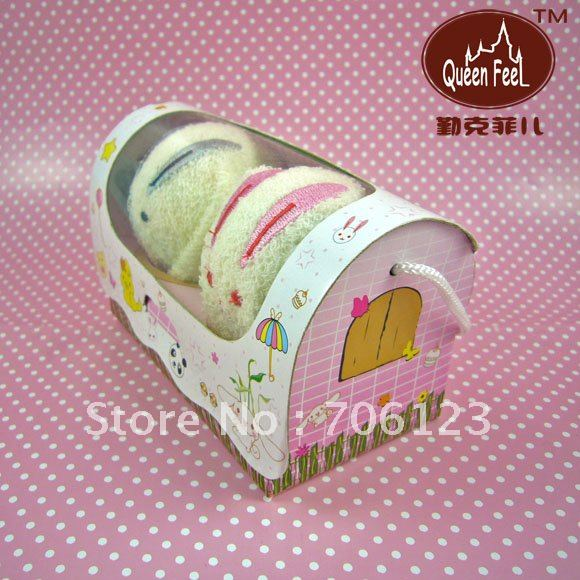 Cake towels Birthday Wedding Gift Soft cotton washclothes handkerchief kerchief mix order 50PCS