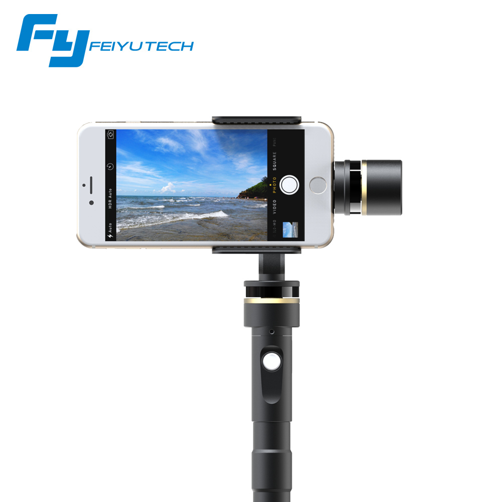 Feiyu FY G4 Plus 3 axis Handheld Phone Stabilzier Gimbal Camera Mount Support iPhone6 Xiaomi 4 Free Shipping IN Stock(China (Mainland))