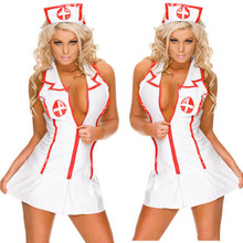2015 hot sexy lingerie hot nurse uniform erotic lingerie+hat soft comfortable SM cosplay bikini set lingerie sexy costumes